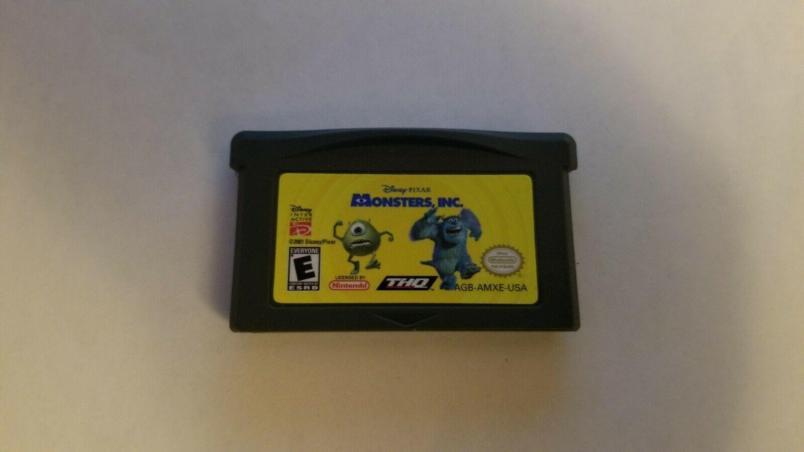 Monsters, Inc. (Nintendo Game Boy Advance, 2001) **CARTRIDGE ONLY**