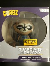 New~Funko Dorbz ~ Rocket  Raccoon ~ Guardians Of The Galaxy ~Hot Topic E... - $13.99