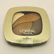 L'Oréal Eye Shadow Colour Riche Dual Effects Treasured Bronze - $4.94