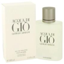 ACQUA DI GIO by Giorgio Armani Eau De Toilette Spray 3.3 oz for Men #416544 - $78.74