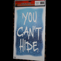 Gothic Halloween Horror Prop-YOU CAN'T HIDE-Floor Wall Grabber Window De... - $3.93