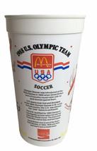 Vtg McDonald's 1988 U.S. Olympic Team Soccer Cup Unused Displayed McDona... - $18.76