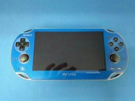 PlayStationVita Wi-Fi Model Sapphire Blue PCH-1000 ZA04 Used - $127.98