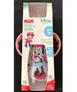 NIB Nuk Disney Baby Minnie Mouse 10oz Silicone Soft Spout Learner Cup 9+... - $14.84