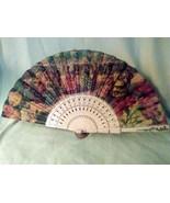 Vintage Spanish  Hand Fan, Flamenco Dancing Artwork ,Circa 1930's - $39.60