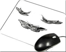 Bird Butterfly Tattoo Harry Styles One Direction 1d Mouse pad New Inspirated Mou - $6.99
