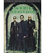 Matrix Reloaded ( DVD ) - $2.00