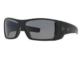 New Oakley Batwolf Matte Black w/Grey Polarized  OO9101-04 - $137.15