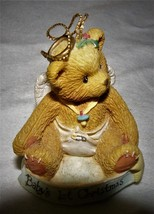 Cherished Teddies Ornament. Baby's 1st Christmas Item #141240  - $5.45