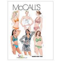 McCall's Patterns M5400 Misses' Two- Piece Bathing Suit and Cover-Up, Size AX5 ( - $14.21
