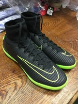 nike mercurialx proximo ii ic Indoor Soccer Shoes Black Green Size Man 1... - $163.63