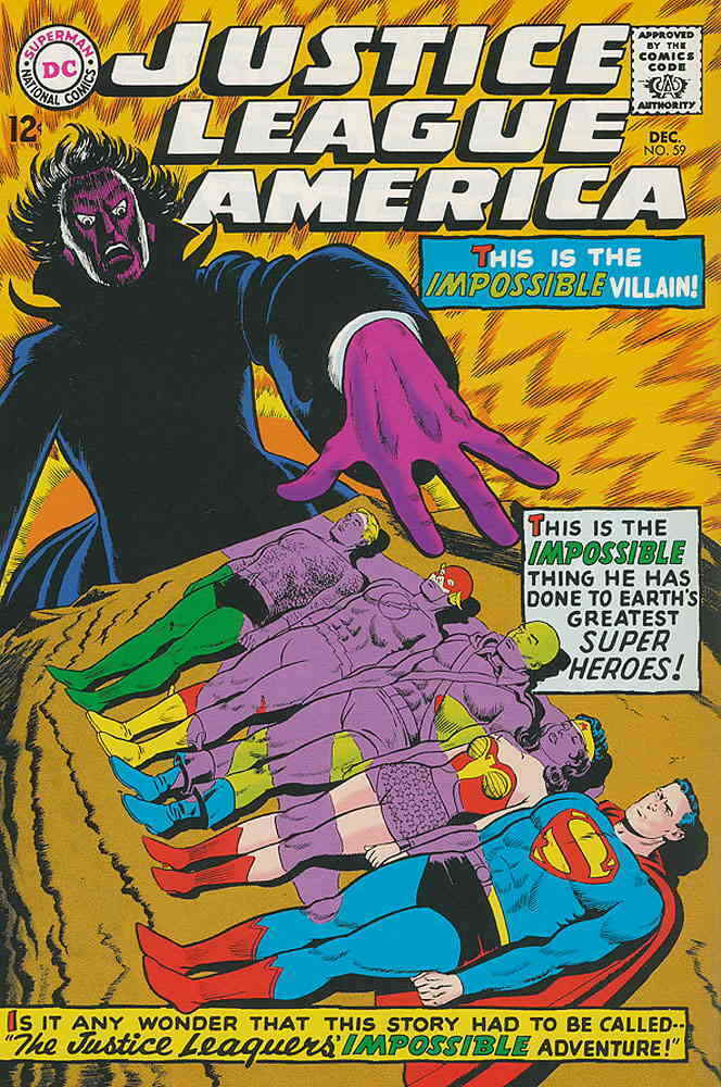 Primary image for Justice League of America #59 VG; DC | low grade comic - save on shipping - deta