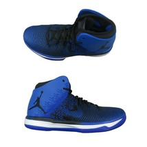 86eb731e0b9f9b Air Jordan XXXI 31 Black Royal Basketball Shoes Size 10 Mens 845037 007 New  -  113.84