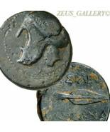 GREEK HELMET / Spear head. KASSANDER King Macedon RARE Ancient Greek 1 U... - $355.50