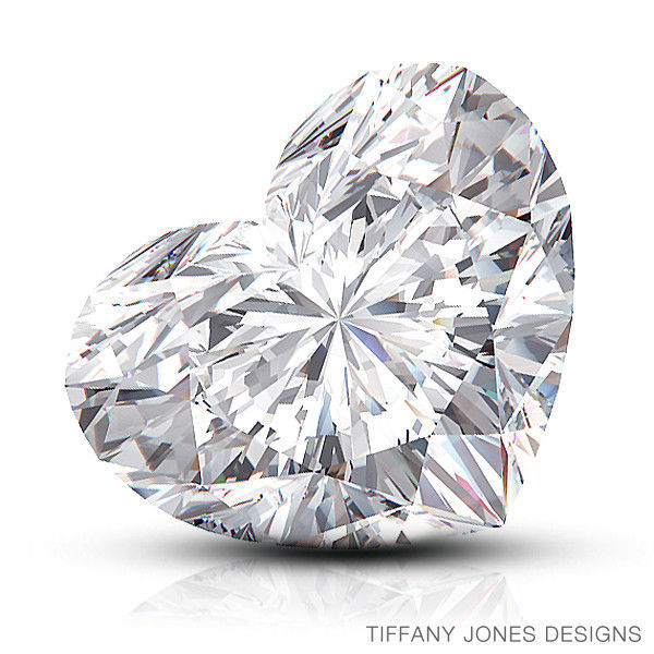 Primary image for 4.02ct I-VS2 VG-Pol Heart Shape GIA 100% Natural Diamond 10.74x12.28x5.57mm