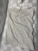 American Eagle Outfitters Grey Strap Top Women's Size M - $9.40