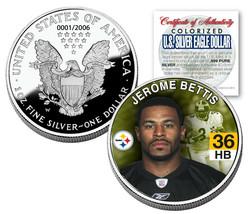 JEROME BETTIS 2006 American Silver Eagle Dollar 1 oz US Colorized Coin S... - $37.36