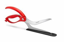 Scizza Scissors, Non-Stick Stone Safe Pizza Cutter and Server - ON SALE... - $29.99