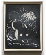 Claes Oldenburg 1973 Hand Signed Numbered Lithograph Ltd. Ed. Framed JKL... - $2,970.00