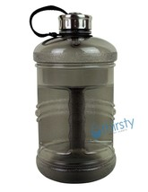 Grey BPA Free Water Bottle 2.3 Liter Canteen Gym Bottle Jug Container Ro... - $301,03 MXN