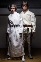 Hot Toys  Star Wars Episode 4 Luke Skywalker & Princess Leia  Figure New... - $1,239.60