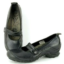 Merrell Plaza Bandeau Black Leather Shoes Women's US 6 - $24.94