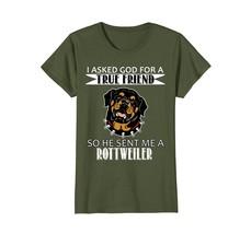 Rottweiler T-shirt - Rottweiler True Friend Shirts - $19.99+