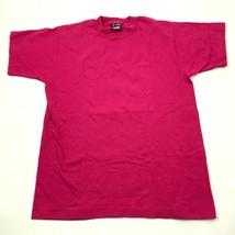 VINTAGE Shirt Size Medium M Adult Red Single Stitch Tee Adult Mens USA M... - $17.83