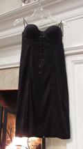 Guess Jet Black Corset Dress Size 0 retail $108.00 - $24.75