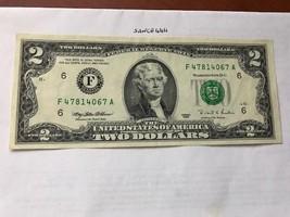 United States Jefferson $2 uncirc. banknote 1995 #3 - $9.95