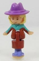 1994 Vintage Polly Pocket Dolls Light-Up Horse House Polly Bluebird - $8.00