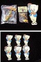 Looney Tunes Lot Porky Pig Iron Ons Road Runner Wendy's Premium Daffy Duck - $19.99
