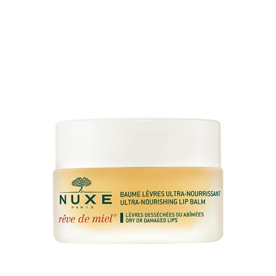 NUXE Reve De Miel Ultra-Nourishing Lip Balm 15g , BEST balm For Dry Damaged Lips