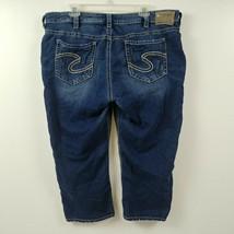 Silver Jeans Womens Suki Jeans Capris Cropped 22 Measures 39x22 Joga Str... - $40.16