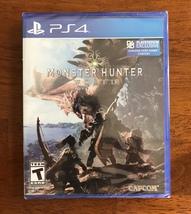 CAPCOM MONSTER HUNTER PS4 NEW SEALED - $57.99