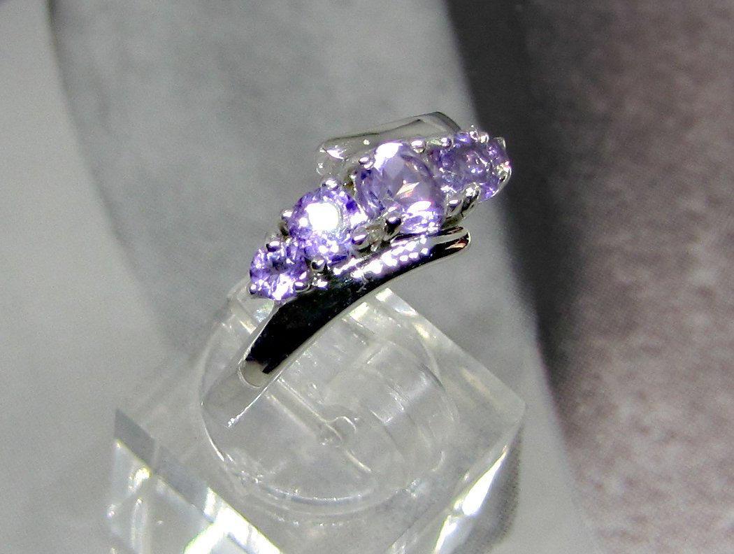 925 Sterling Silver Natural Fine Quality Heart Shape Amethyst Gemstone Handcraft image 5