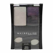 Maybelline Eyeshadow 1-Quad ~ 06Q Amethyst & 1-Trio 50T Impeccable Greys... - $13.07