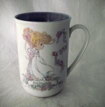 STEPHANIE Precious Moments Mug Personalized Girl 1993 Cup Enesco Tea Gif... - $17.81
