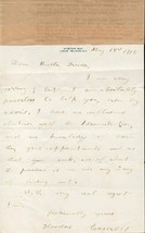 THEODORE ROOSEVELT Handwritten signed letter. Fine autograph.Interesting content image 1