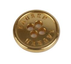 "Ralph Lauren Lauren Gold Metal Sweater Replacement Button .50"" - $3.91"