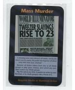 Mass Murder - Illuminati New World Order Collectible Card Game - Steve J... - $0.97