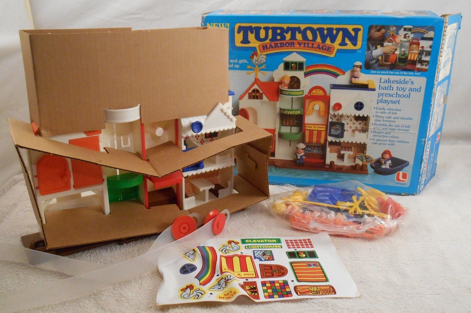 New Tubtown Harbor Village Rare 1982 Vintage and 50 similar items