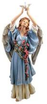 Angel in Blue Releasing Dove Memorial Garden Statue - €25,37 EUR