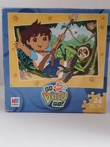 """MB Hasbro Nick Jr Go Diego Go 24 Piece Jigsaw Puzzle 10"""" x 13"""" Age 3+ - $9.49"""