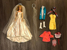 Rare 1960s Barbie Francie Rooted Lashes MOD Pat Pend TNT Standard Japan ... - $297.00