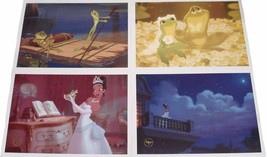 Set of 4 Disney Exclusive Commemorative Lithograph The Princess and the ... - $15.79