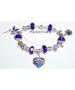 Beautiful Blue Mom Authentic Jared Pandora Brac... - $125.00
