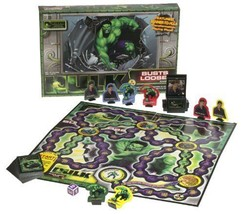 Hulk Busts Loose Board Game [by Pressman 2003 New] Family Fun Game Marve... - $26.89