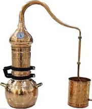 Column Distillery 5 liters with thermometer *Alambicco* Alembic *Still*Moonshine - $289.99