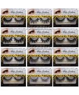 Miss Cils 3D False Soie Cil Volume Long Naturel Maquillage pour les Yeux... - $3.44